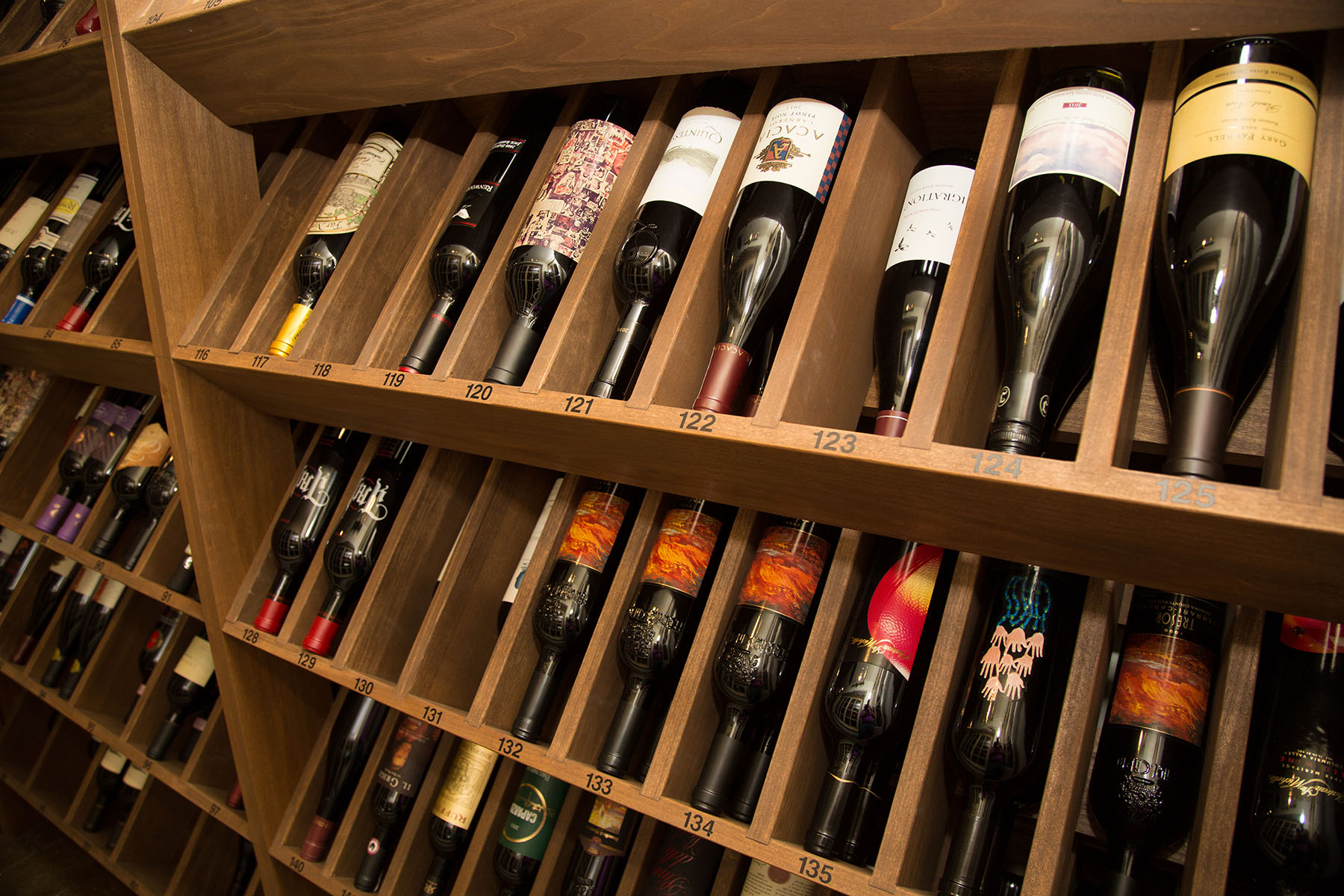 Our wine list has earned Caffe Itri the prestigious Wine Spectator Award of Excellence every year since 2003.