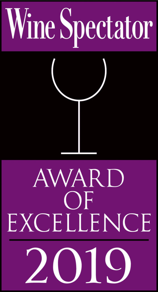 Caffe Itri Receives Wine Spectator Award of Excellence for 2019